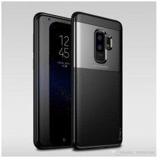 Samsung galaxy s9 plus dėklas iPaky Carbon Fiber juodas TPU