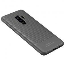 Samsung galaxy s9 plus dėklas iPaky Carbon Fiber PILKAS TPU