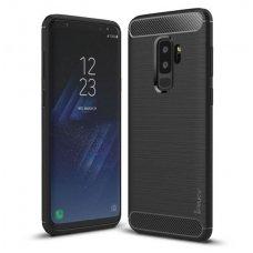 Samsung galaxy s9 plus dėklas iPaky Slim Carbon TPU juodas