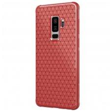 Samsung Galaxy s9 plus dėklas Nillkin Weave TPU raudonas