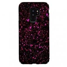 samsung galaxy s9 plus dėklas nugarėlė splash tpu juodas-rožinis
