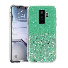 Samsung galaxy s9 plus dėklas Vennus Briliant TPU žalias