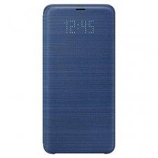 """Samsung Galaxy S9 Plus originalus išmanus atverčiamas dėklas """"LED View Cover"""" mėlynas"""