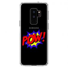"Samsung Galaxy S9 plus TPU DĖKLAS UNIKALIU DIZAINU 1.0 MM 1.0 mm ""u-case airskin POW design"""