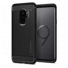 "Samsung galaxy s9 plus Spigen ""rugged armor"" aukštos kokybės tpu juodas"