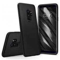"""Samsung galaxy s9 plus Spigen """"Liquid crystal"""" aukštos kokybės tpu juodas"""