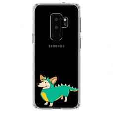 """Samsung Galaxy S9 plus TPU dėklas unikaliu dizainu 1.0 mm """"u-case Airskin Doggo 4 design"""""""