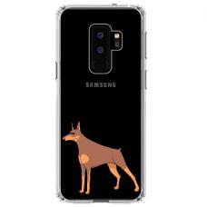 """Samsung Galaxy S9 plus TPU dėklas unikaliu dizainu 1.0 mm """"u-case Airskin Doggo 6 design"""""""