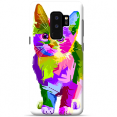 "Samsung Galaxy S9 plus TPU dėklas unikaliu dizainu 1.0 mm ""u-case Airskin Kitty design"""