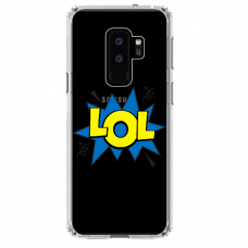 "Samsung Galaxy S9 plus TPU dėklas unikaliu dizainu 1.0 mm ""u-case Airskin LOL design"""