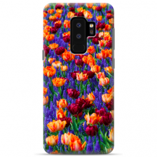 "Samsung Galaxy S9 plus TPU dėklas unikaliu dizainu 1.0 mm ""u-case Airskin Nature 2 design"""