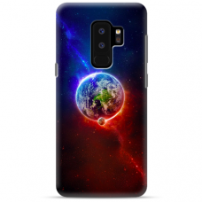 "Samsung Galaxy S9 plus TPU dėklas unikaliu dizainu 1.0 mm ""u-case Airskin Nature 4 design"""