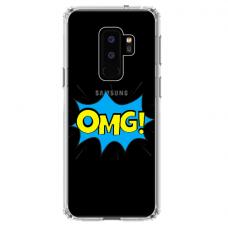 """Samsung Galaxy S9 plus TPU dėklas unikaliu dizainu 1.0 mm """"u-case Airskin OMG design"""""""