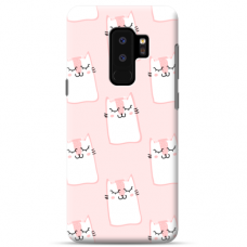 "Samsung Galaxy S9 plus TPU dėklas unikaliu dizainu 1.0 mm ""u-case Airskin Pink Kato design"""