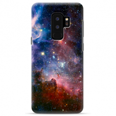 "Samsung Galaxy S9 plus TPU dėklas unikaliu dizainu 1.0 mm ""u-case Airskin Space 2 design"""