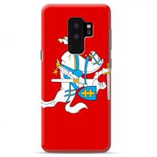 """Samsung Galaxy S9 plus TPU dėklas unikaliu dizainu 1.0 mm """"u-case Airskin Vytis design"""""""