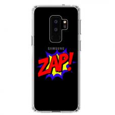 """Samsung Galaxy S9 plus TPU dėklas unikaliu dizainu 1.0 mm """"u-case airskin ZAP design"""""""