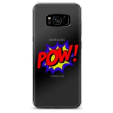 "Samsung Galaxy note 8 TPU DĖKLAS UNIKALIU DIZAINU 1.0 MM 1.0 mm ""u-case airskin POW design"""