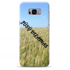 Samsung galaxy S8 TPU dėklas nugarėlė su jūsų dizainu. Dėklas gaminamas su jūsų pateikta nuotrauka