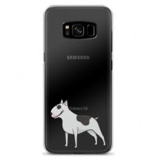 "Samsung Galaxy S8 TPU dėklas unikaliu dizainu 1.0 mm ""u-case Airskin Doggo 3 design"""