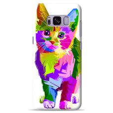 "Samsung Galaxy S8 TPU dėklas unikaliu dizainu 1.0 mm ""u-case Airskin Kitty design"""