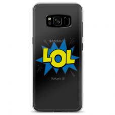 """Samsung Galaxy S8 TPU dėklas unikaliu dizainu 1.0 mm """"u-case Airskin LOL design"""""""