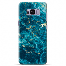 "Samsung Galaxy S8 TPU dėklas unikaliu dizainu 1.0 mm ""u-case Airskin Marble 2 design"""