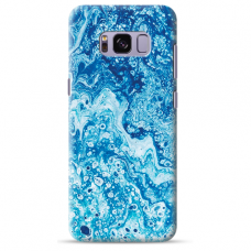 "Samsung Galaxy S8 TPU dėklas unikaliu dizainu 1.0 mm ""u-case Airskin Marble 3 design"""