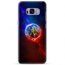 """Samsung Galaxy S8 plus TPU dėklas unikaliu dizainu 1.0 mm """"u-case Airskin Nature 4 design"""""""