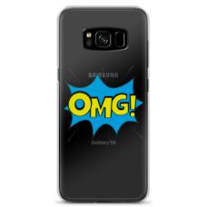 """Samsung Galaxy S8 plus TPU dėklas unikaliu dizainu 1.0 mm """"u-case Airskin OMG design"""""""
