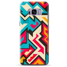 """Samsung Galaxy S8 TPU dėklas unikaliu dizainu 1.0 mm """"u-case Airskin Pattern 7 design"""""""