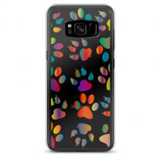 """Samsung Galaxy S8 plus TPU dėklas unikaliu dizainu 1.0 mm """"u-case Airskin PAW design"""""""