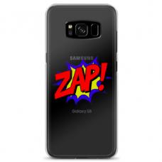 """Samsung Galaxy S8 TPU dėklas unikaliu dizainu 1.0 mm """"u-case airskin ZAP design"""""""