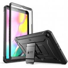 Akcija! Samsung Galaxy Tab A 10.1 2019 T510/T515 Dvipusis Premium Apsauginis Dėklas Supcase Unicorn Beetle Pro Juodas