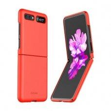 Samsung Galaxy Z Flip dėklas Araree Aero plastikas raudonas