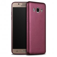 Samsung galaxy J7 2016 dėklas X-LEVEL GUARDIAN silikonas bordo