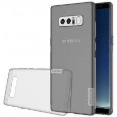 Samsung galaxy  NOTE 8 dėklas nillkin nature 0,6mm TPU permatomas pilkas