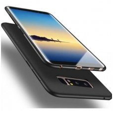 akcija! Samsung galaxy NOTE 8 dėklas X-LEVEL GUARDIAN silikonas juodas