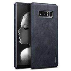 Samsung galaxy NOTE 8 dėklas X-LEVEL VINTAGE eko oda juodas