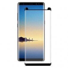 Samsung galaxy NOTE 8 Apsauginis ekrano stiklas 3d H Pro juodais kraštais