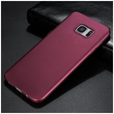 Samsung galaxy S6 EDGE PLUS dėklas X - LEVEL GUARDIAN silikonas bordo