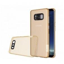 Samsung galaxy S8 dėklas Nillkin Nature TPU 0,6mm rudas