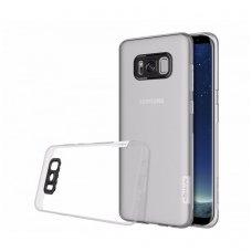 Samsung galaxy S8 dėklas Nillkin Nature TPU 0,6mm skaidrus