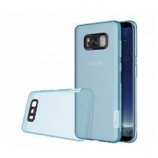 Samsung galaxy S8 dėklas Nillkin Nature Silikoninis 0,6mm žydras