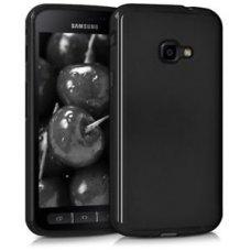 Samsung galaxy xcover 4 dėklas MATT SILIKONINIS JUODAS