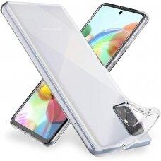 Akcija! Samsung galaxy M31s dėklas 3MK Clear TPU 1,2mm permatomas