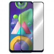 Samsung galaxy m21 LCD apsauginis stikliukas juodais kraštais 3MK Hard Glass Max