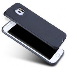 Samsung galaxy S6 EDGE dėklas X-LEVEL GUARDIAN Silikoninis 0,6mm Juodas