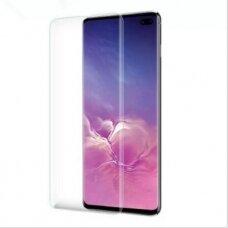 Akcija! Samsung S10e lenktas 5D grūdintas apsauginis stiklas UV glue