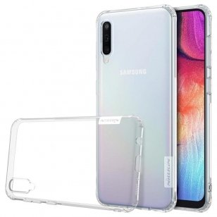 Hülle Gel Tpu Nillkin Nature für samsung galaxy a50 -  transparent